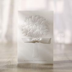 Bouquet Pattern Wedding Invitation (Set of 50) – USD $ 39.99
