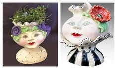 Give your #vase some #face !
