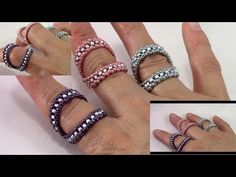 Dual Bling Stackable Ring - YouTube