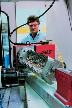 Hendrick Motorsports Looks To Haas CNC Machines For Flexibility