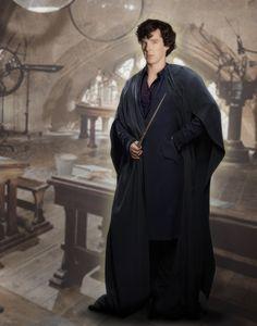 Sherlock master at Hogwarts