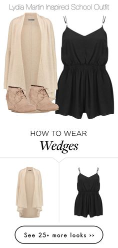 """""""Lydia Martin Inspired School Outfit"""" by staystronng on Polyvore featuring MINKPINK, Vince, Nature Breeze, Spring, school, LydiaMartin and tw"""