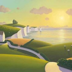 Chalk Cliffs Paul Corfield