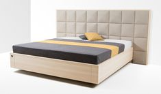 Boxspringbett Zirbe Freiraum von Zirbenherz® Wood Bed Design, Wood Beds, Mattress, Sleep, Avantgarde, Furniture, Home Decor, Stream Bed, Bedroom Ideas