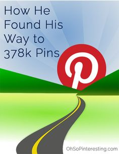 Joseph hadn't given much thought to Pinterest until he wrote a blog post that was pinned on Pinterest over 378k times and took his blog from a few hundred visitors a day to thousands of visitors per day.