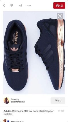 shoes black and copper adidas black sneakers low top sneakers rose gold black adidas zx flux
