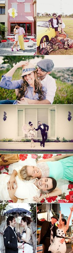 22 High Fashion Engagement Photos - Fun! Engagement Shoots // Aisle Perfect