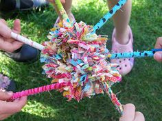 DIY Cheer Pens! Use your team colors for a fun and simple #CheerCraft