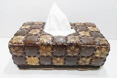 Coconut Shell Rectangular Kleenex Tissue Boxes Cover Holder Hand Craft Carved | eBay