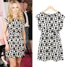 Hello, friends. Look at the #GeometricPrintDress, You're not afraid of fashion risks. In fact, you embrace them. When in doubt, this outfits is the answer. You just need to wear it. You don't need any insanely cloth. It can perfect all you fashion needs. Just take action!