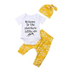 Find a Name for your Baby! - Amelia Baby Name - Ideas of Amelia Baby Name - Welcome To The Adventure Baby Outfit Amelia Baby Name Ideas of Amelia Baby Name Welcome To The Adventure Baby Outfit New Baby Girls, Diy For Girls, Kids Diy, Trendy Baby Clothes, Diy Clothes, First Baby, New Baby Products, Onesies, Diy Baby