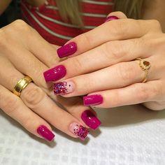 💅Qual a sua nota de 0 a 10 pra essas unhas? Curta e Marque suas amigas! Pedicure Nail Art, Manicure, Magenta Nails, Red Acrylic Nails, Nail Designer, Cat Eye Nails, Toe Nail Designs, Pedicure Designs, Pretty Nail Art