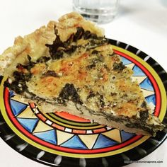 Kale pie--recipe at Ancestors in Aprons. (click on picture_