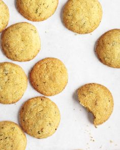 Lemon-Ginger Cookies with Mint - Martha Stewart Recipes