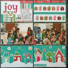 Side B - 1st Grade Christmas program - Scrapbook.com