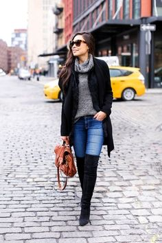 Must Wear Fall Outfits With Boots (6)
