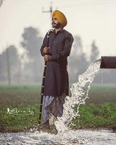 Nav Punjabi Boys, L King, Swag Boys, Punjabi Fashion, Pre Wedding Photoshoot, Turban, Desi, Kimono Top, Celebrities