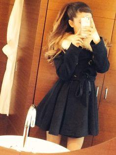 Ariana Grande's style Frankie Grande, Ariana Grande Outfits, Ariana Grande Fotos, Justin Bieber, Harry Styles, Bae, Dangerous Woman, My Idol, Winter Outfits