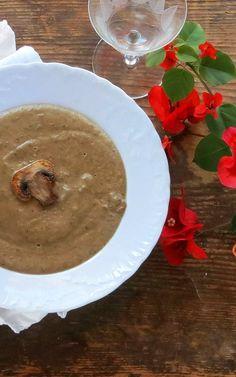 Pressure Cooker Cream of Mushroom Soup