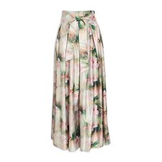 Green Floral Ballgown Skirt - RSVP   YDE South African Fashion, Tie Dye Skirt, Rsvp, Printing On Fabric, Ball Gowns, Floral Design, Green, Skirts, Skirt