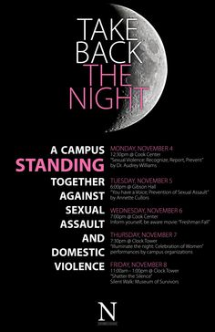"""""""take back the night"""" poster - Google Search Take Back, Work Inspiration, Flyers, Movie, Graphic Design, Google Search, Night, Board, Poster"""