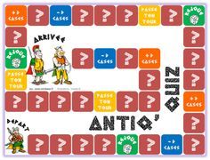 Antiq'quiz (jeu de plateau sur l'Antiquité) www.lutinbazar.fr