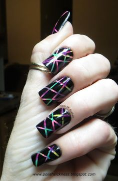 Please check out and follow the blog to see the products and method used. On Facebook: Polish Sickness (tons of photos posted) On Instagram: PolishSickness