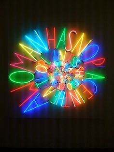 'A WOMAN HAS NO PLACE IN THE ART WORLD UNLESS SHE PROVES OVER AND OVER AGAIN SHE WON'T BE ELIMINATED' NEON SIGN ๑෴MustBaSign෴๑