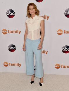 Ellen Pompeo Button Down Shirt