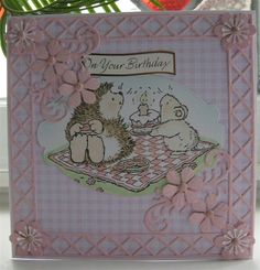 Hedgehog Birthday   docrafts.com