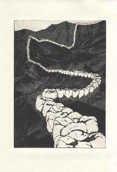"Saatchi Online Artist jean-philippe paumier; Printmaking, ""the unforgotten"" #art"