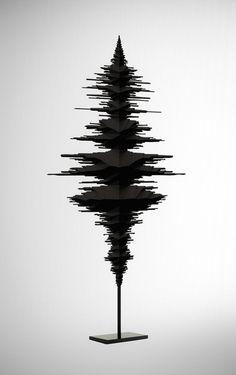 Soundscultptures by Fabian Buergy, via Behance