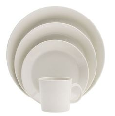 10 easy pieces basic white dinnerware at Remodelista