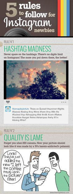 5 rules to follow for Instagram newbies - The Maple Kind