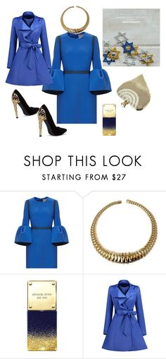"""Winter blues"" by angieberrys on Polyvore featuring Michael Kors"