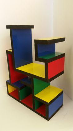 GCSE Product Design AQA - Small Storage unit based on existing design movements