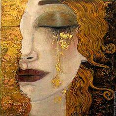 Freyas Tears by Gustav Klimt art deco era Godess of sex & love 1900 art print Heartbroken woman tears of gold 1114 art deco print Gustav Klimt, Art Klimt, Art Deco Print, Art Deco Era, Art Prints, Tableaux Vivants, Goddess Of Love, Photo Wall Art, Inspiration Art