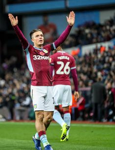 November 2018 Villa Park Birmingham England EFL Championship football Aston Villa versus Bolton Wanderers Jack Grealish of Aston Villa waves to. Jack Grealish, Championship Football, Bolton Wanderers, Marc Andre, Villa Park, Birmingham England, Just A Game, Isco, Football Pictures