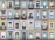 Janelas de Lisboa, fotografadas por André Vicente Gonçalves.