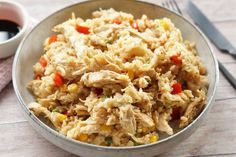 Stegt ris A Food, Food And Drink, Asian Recipes, Ethnic Recipes, Wok, Fried Rice, Poultry, Recipies, Pasta