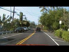 Crusing video / Alii drive in Hawai'i; Kona, Hawaii - Part I