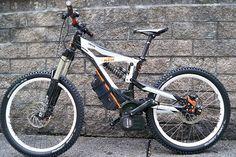E-Bike Pedelec Prototyp KTM eGnition Bosch Drive Unit 45 S-Pedelec Freeride