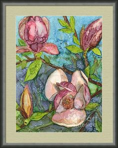 Magnolias Framed Print By Vicki Baun Barry... great mothers day gift!!