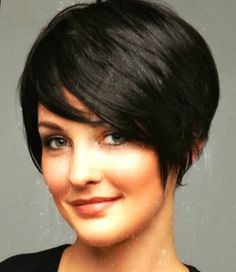 Current Short Hairstyles - Current short hair styles 2017 Released on Mayron Teeuwisse like cool hairstyle trends to 2017 man i. Bob Hairstyles For Thick, Long Face Hairstyles, Short Pixie Haircuts, Teen Hairstyles, Thick Hair Pixie, Short Thin Hair, Short Hair Cuts, Medium Hair Styles, Short Hair Styles