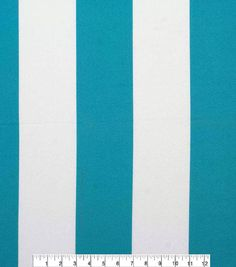 Oudoor Canvas Fabric Baja Stripe Turquoise,