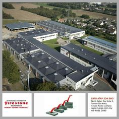 """This is Lycee Lavoisier, Porcheville-France building masterpiece, they are using Firestone EPDM roof membrane.  Every """"Masterpiece"""" marks the attainment of its age and endures as profit, reputation & prosperity. Your investment in Firestone roofing system bringing you faster to your aim.  Firestone endures profit, reputation & prosperity"""