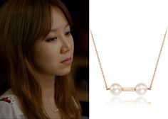 "Gong Hyo-Jin 공효진 in ""It's Okay, That's Love"" Episode 4.  J.Estina Gemellaire Reine Perlina Necklace #Kdrama #ItsOkayThatsLove 괜찮아, 사랑이야 #GongHyoJin"