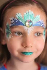 mermaid face paint - Google Search
