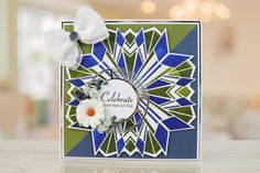 Art Deco Card Shape Collection by Tattered Lace For more information visit: www.tatteredlace.co.uk