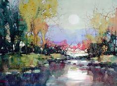 Z L Feng Inspiration, Watercolor, Canvas, Watercolor Artist, Painting, Gorgeous Art, Art